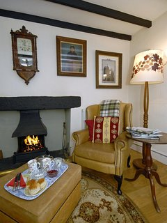 North Pembrokeshire cottage holiday - lounge