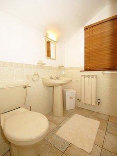 Riverside holiday cottage - first floor shower room