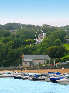 Holiday cottage overlooking Newquay Bay