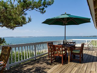 Spectacular Private Waterfront and Beachfront Home, Wellfleet