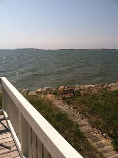 View from Deck with View Over Great Island