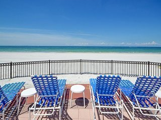 Tides Beach Club 341 - Highly Desirable 3 Bedroom Gulf Front Corner Condo!, North Redington Beach