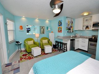 Sea Rocket #9 - ALL NEW, Ground Floor North Side Condo Steps to the Sand!, North Redington Beach