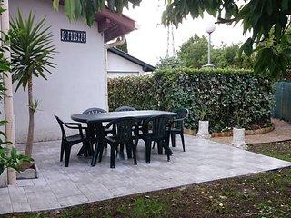 Plage piscine jardin terrasse maison en residence, Hendaye