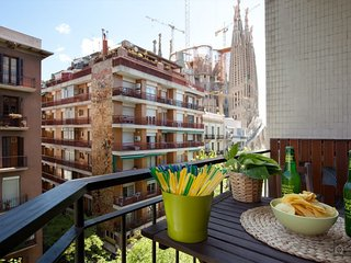 GowithOh - 16129 - Apartment for 6 with views of the Sagrada Familia - Barcelona