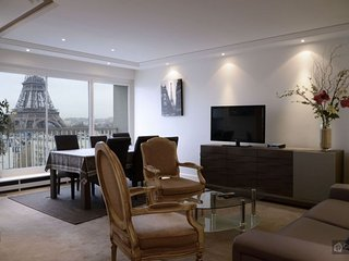 GowithOh - 19575 - Luxury apartment for 6 people overlooking the Eiffel Tower - Paris, Parijs