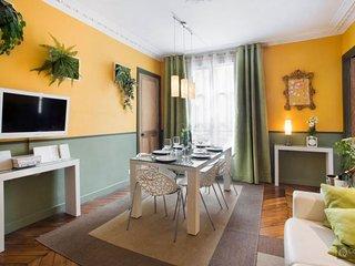 GowithOh - 19718 - Magnificent apartment for 6 near the Saint Martin Canal - Paris, Parijs