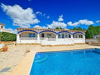 4 bedroom Villa in Moraira, Valencia, Spain : ref 5044753