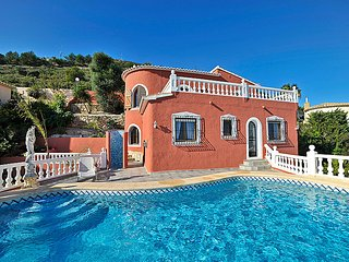4 bedroom Villa in Moraira, Costa Blanca, Spain : ref 2242520