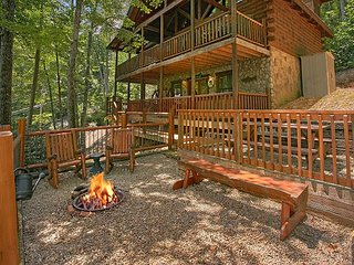 2bedroom Pet Friendly Cabin Gatlinburg TN 5 Minutes to Arts&Crafts Community, Sevierville