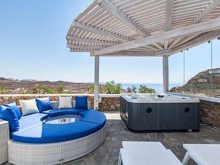 Villa Aerides in Mykonos, Agios Stefanos