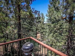 Great Value!  In the TREES, close to HIKING, BIKING and LAKE