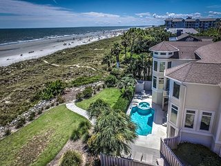 10 Curlew- Direct Oceanfront with Pool & SPA, Hilton Head