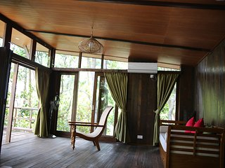 Rustic Chic Jungle Chalet at the Tip of Borneo
