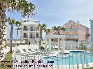 Romar House At Beachside!  May 14-21 OPEN!! Gulf front w/prvt pool!! 8bd/7bath!, Orange Beach