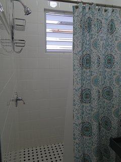 Shower area.