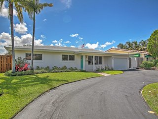 Upscale 3BR Wilton Manors House w/Heated Pool!