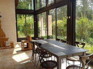 Villa landaise entre mer et pins
