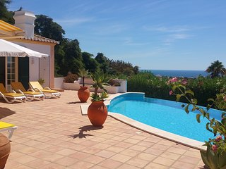 Beautiful holiday villa with fantastic sea view, Lagos