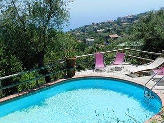 Pretty Villa Terralu in Farmhouse with shared pool, Sorrente
