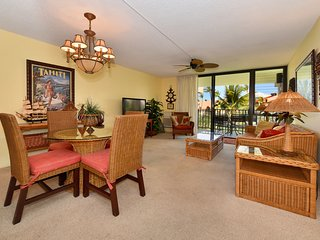 Kamaole Sands -inner court - granite - August fill in $99 nightly