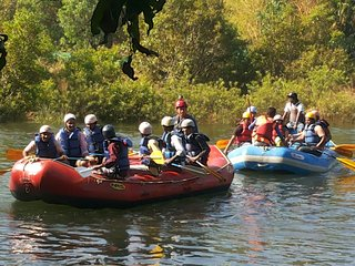 Kundalika river rafting adventure nature camp DMARC,  Kolad