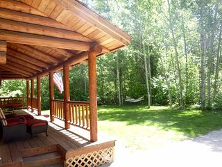 Beautiful Log House by Draper Preserve And Big Wood River ~ RA72028, Hailey