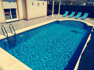 Secluded Two Bedroom Detached Villa With Pool, Puerto de Mazarron