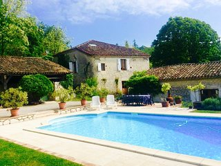 17th Century Quercy Farmhouse South West France, Touffailles