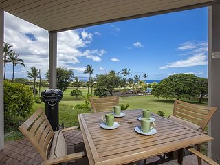 Wailea Ekolu #205 2Bd/2Ba Ocean View, Ground Floor, Near Beach, Wifi Sleeps 6