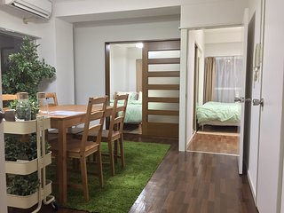 3 bed rooms! Wi-Fi 2min to station., Shibuya