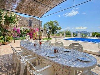Casa en Selva Mallorca para 10 personas N0 Licencia Turistica ET 3073