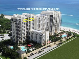 Marriott Resort&Spa-OwnerCondos-19thFl-RareTripleBalcony-RareDiningTable-WiFI TV, Singer Island