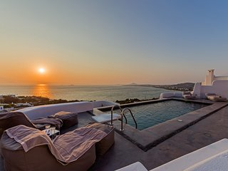Venti Villa Naxos | Luxury Sea View Villa in Naxos, Naxos (Stadt)