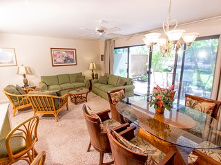 Ground Floor; Steps from Large Pool; Walk to Beach, Kihei