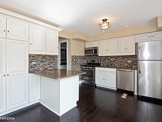 Beautifully Remodeled 3 BR Townhouse near Chicago, Wilmette