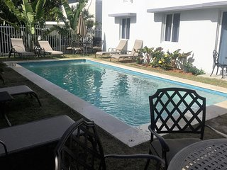 3 Bedroom POOL House across the street from  Beach, Miami Beach