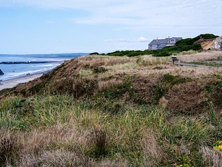 Custom, waterfront home w/ ocean views. Walk to town & the beach - dogs welcome!, Bandon
