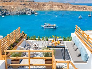 Lindos Shore Summer House with jacuzzi & sea view