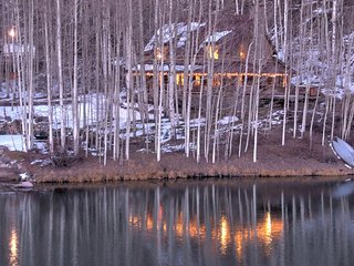 Cabin on Cushman Lake, Telluride