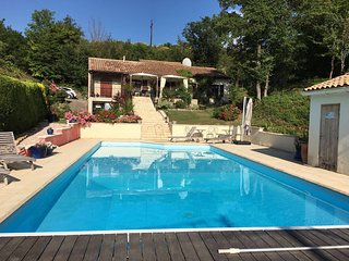Cathar Countryside Villa, Near Limoux, Large pool