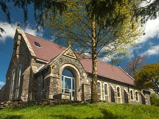 St Curig's Church is a quirky and wonderful self-catering property.