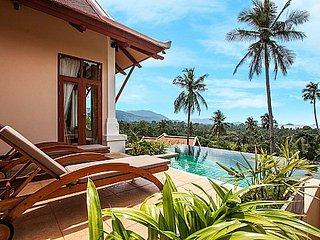 Hillside modern 3 bed pool villa, Ko Samui