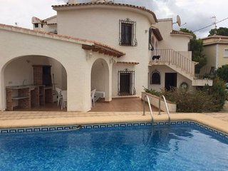 House with pool in Calpe
