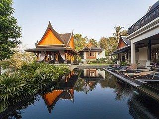 Luxury 5 bed Thai villa at Rawai Beach, Ko He