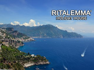 Beautiful apartment overlooking the sea of Amalfi