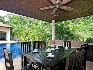Chic 4 bed modern villa with pool, Kata Beach