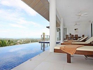 Expansive villa with distant sea views, Kata Beach