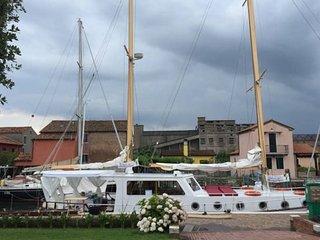 Esclusivo veliero nel cuore della laguna Veneziana, Sottomarina