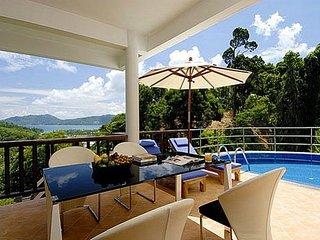 Panoramic sea view villa at Patong, Karon